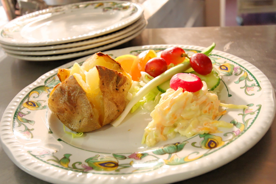 Food at Rose Lawn Care Home