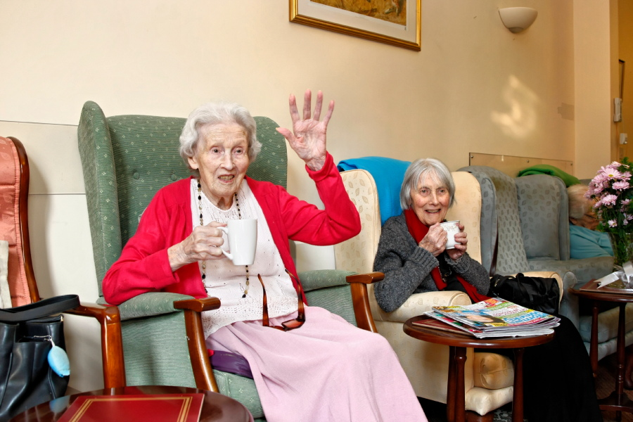 Residents at Fair Havens Care Home